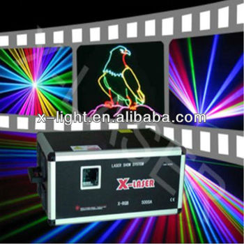 Apple To Outdoor&Indoor Celebration And Vocal Concert 40Kpps 15W RGB full Color Animation Laser Light Analog Modulation(R638nm3W