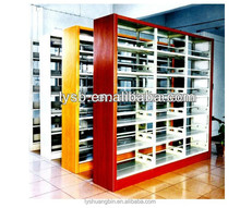 Good quality KD metal library bookshelves/shelving storage