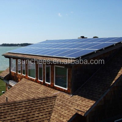 PV solar panel off grid system for home ; best solar panel price system 300W 500W 800W 1KW 2KW