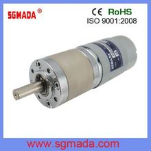45mm 12V high torque low speed planetary gear motor