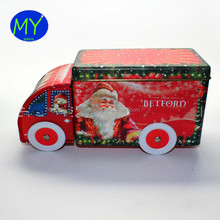 China factory supply tin box customized design truck shape gift packing box on sale