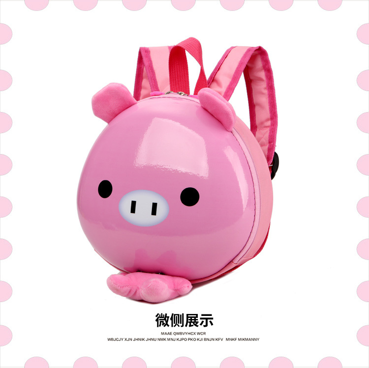 New Fashion Pink Pig Kids Backpack From China Factory Online Shopping