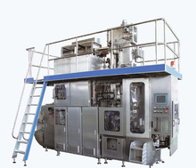 High quality aseptic beverage brick carton filling machine for drink milk and juice