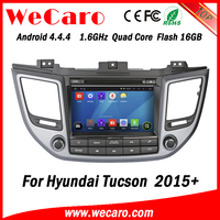 Wecaro WC-HU8015 Android 4.4.4 car multimedia system in dash for hyundai tucson 2015 gps dvd android bluetooth
