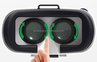 3D VR glasses virtual Reality 3D glasses cheap price 3D VR headsets. 360 Degree viewing immersive Vizor 3D Virtual Reality Heads