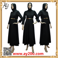 2016 New turkey Abaya Designs Umbrella Style Abaya Long Dresses For Women Islamic