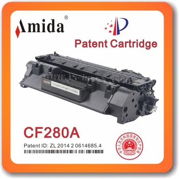 Amida Patent toner cartridge CF280A for HP