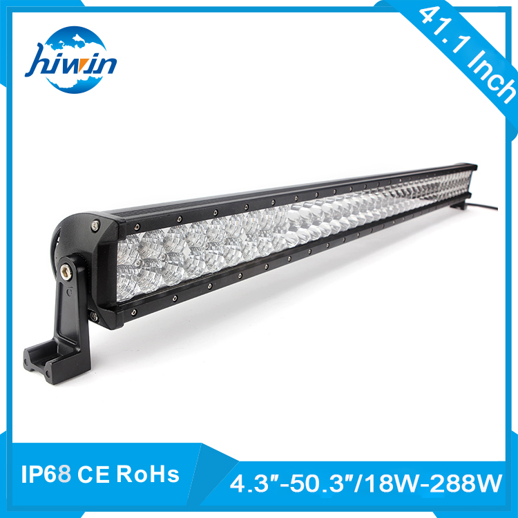 Hiwin 300W 52 Straight Remote Control Auto Lighting Led Warning Strobe Light Exterior Light Bar YP-8207