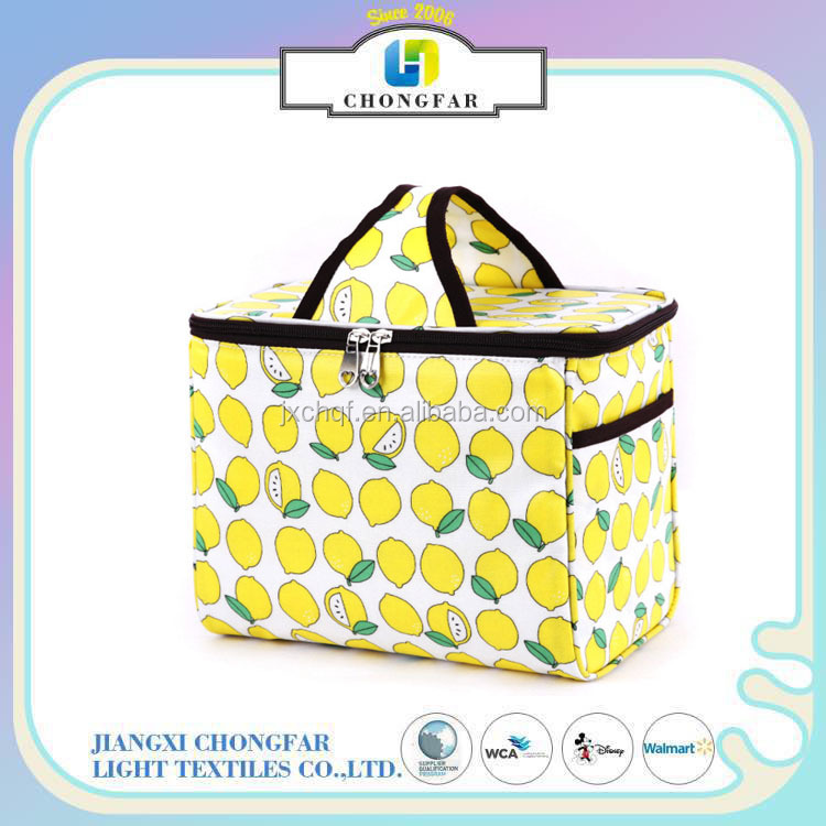 Thermal Insulated Lunch Bag Lunch box canvas Storage Bag for picnic bag