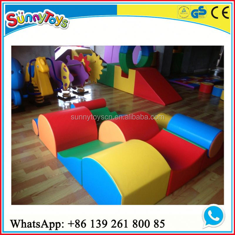 Kids play area and outdoor playground soft play equipment