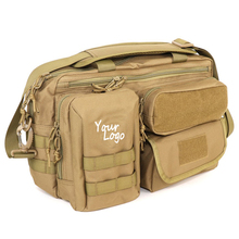 Wholesale Brown Crossbody Tactical Mens Diaper Bag Camo Baby Daiper Bags With High Quality