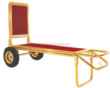 trolley for bellman's luggage cart Hotel luggage cart