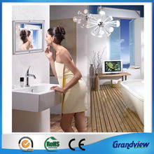 Advertising mirror magic led light box frame