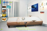 Low price massage bed with jade stone music function made in china