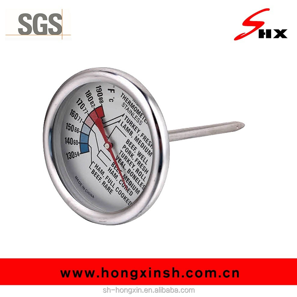 Beef, mutton and pork meat cooking thermometer