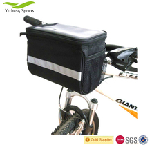 High Quality Cycling Bike handlebar Bag Touch Screen Bike Bicycle Pannier Frame Tube Front bag