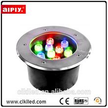 AIPIY brand Floor Mounted Up Lamp Color Changing LED Underground Lights