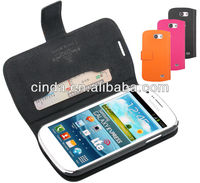 Genuine Real Leather Case Flip Cover Card Slot Wallet for Samsung Galaxy EXPRESS I8730