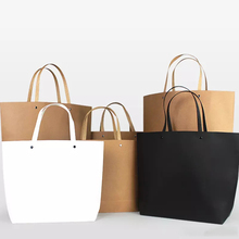 Custom Design Retail Shopping Paper Bags with Your Own Logo
