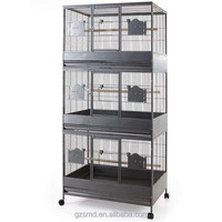 2M Strong Triple Stacker Parrot Breeding Cage