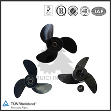 China manufacturer steel small size marine propeller