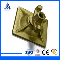 Scaffolding Support System Jack Base Wedge plate with Nut