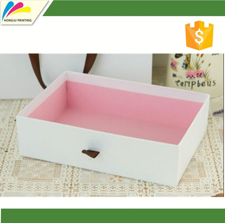 Customized printed luxury recyclable handmade 350g printed gift box