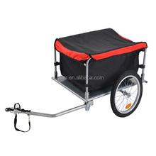 2017 NEW Bicycle Folding Cargo Trailer two wheels shopping cart shopping trolley luggage Dog Bike Cycle Cart Luggage (CT001)