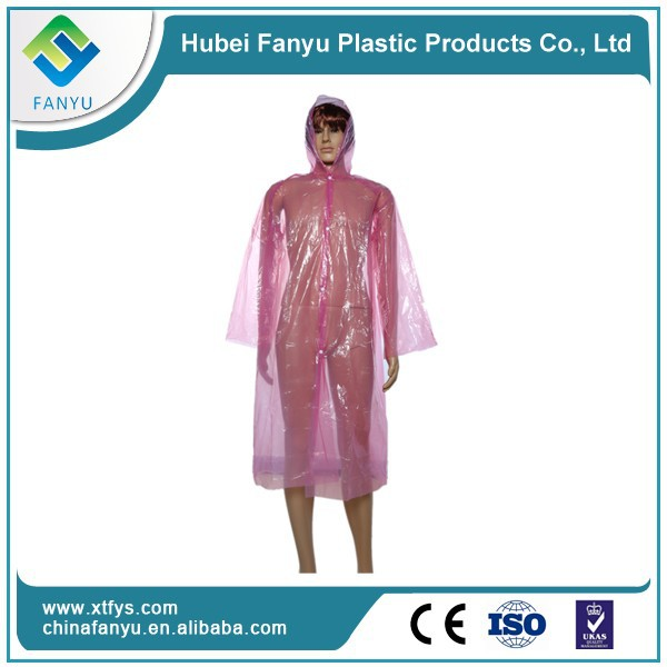 Cheap disposable waterproofing fishing raincoat