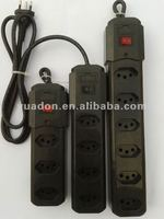 Multi-Functional Power Strip (Brazil extension socket 6outlet)