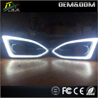 Auto parts wholesale 12v 24v led daytime running light for automobile led turn signal lamp