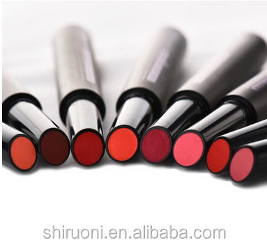 GMP FDA 2017 hot sale push type popular colors matte lipstick