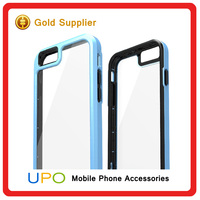 [UPO] Fashionable Hybrid Aluminum PC Plastic Shockproof Scratch Mobile Phone Case for iphone 6,Phone Cover
