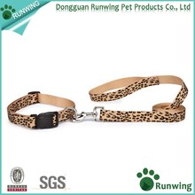 2016 NEW DESIGN Animal Printed Nylon Dog Collar and Leash