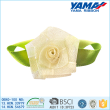 China factory best price popular organza ribbon wedding bedroom flower decoration