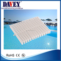 PPS/ABS white or blue shackle type swimming pool grating with width size 18cm/20cm/25cm/30cm