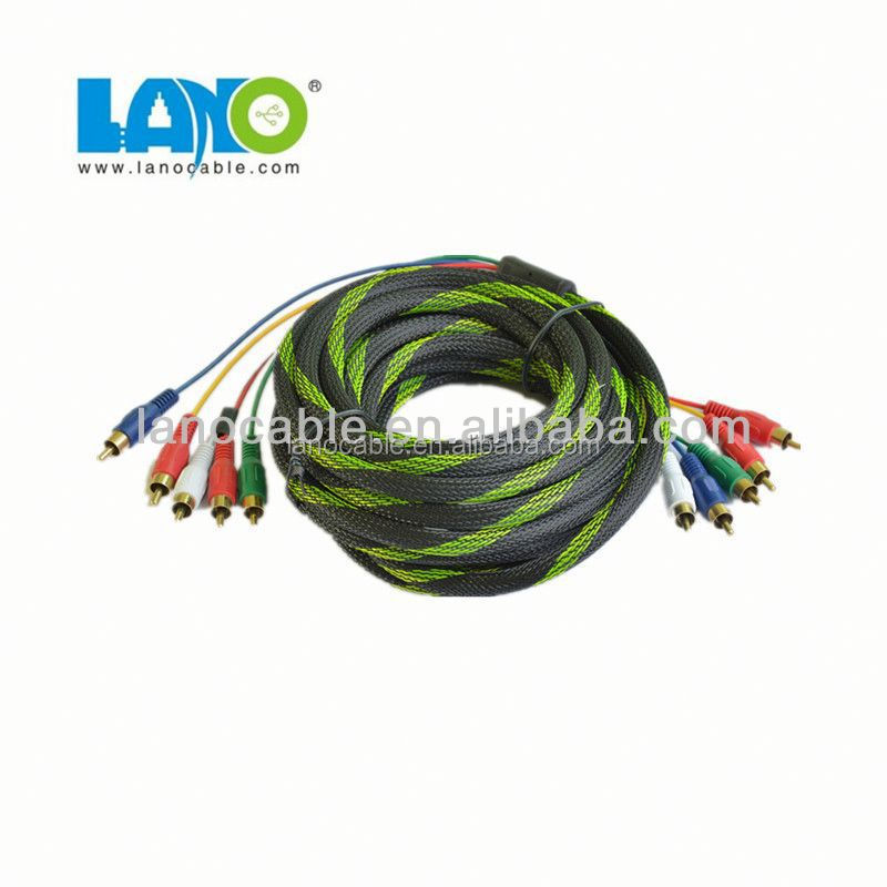 l shape rca audio video cable wholesale