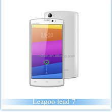 Best China Brand Mobile Original Leagoo Lead 7 MTK6582 1.3GHz Quad Core 5.0 Inch HD Screen Android 4.4 3G Smartphone 4500mAh