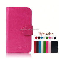 Wholesale Stylish Phone Protective Leather Flip Cover Case For HTC Desire 200