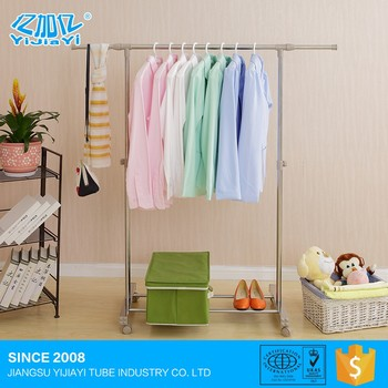 Comfortable new design collapsible coat rack with wheels best service and low price