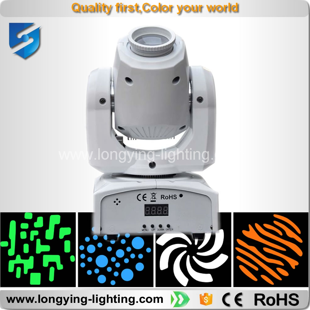 2016 hot selling Party disco dj stage light 30w gobo spot led moving head