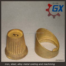Flange pure copper sand castings product