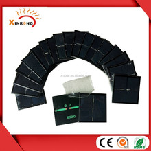 60*60mm Epoxy Resin Encapsulation Solar Panels 3v