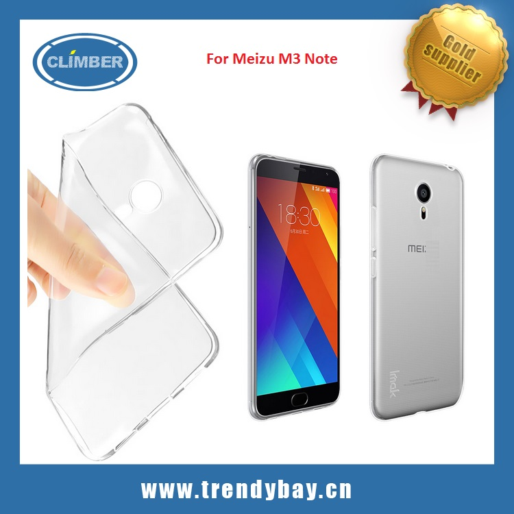 Super thin TPU case cover for Meizu M3 Note