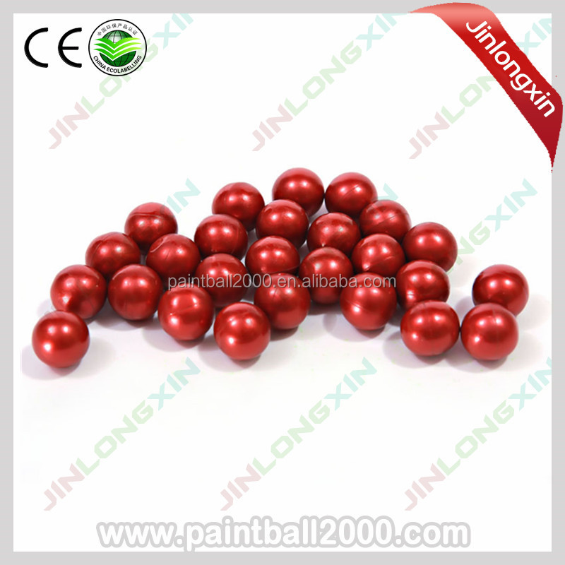 0.68'' Paintball Paint Balls Made with Gelatin & PEG