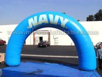 Blue PVC inflatable arch advertising,cheap inflatable archway for promotion C2012