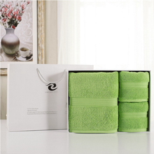 Gift towel three-piece bath towels set