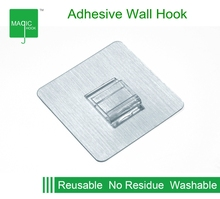 Removable Resuable Heavy Duty Adhesive Wall Hook Hanger