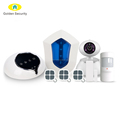 2017 Newest LoRa WiFi/GSM security alarm system with long distance,support 100 smart sockets and 100 ip cameras security alarms