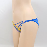 Beautiful Nice professional lingerie gloden sexy new design g string panties
